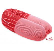 Perna Scamp 3 in 1 pentru gravide, alaptat, bebelusi, 160 cm, Miami Red