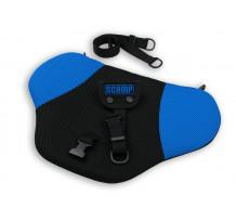 Deviator centura de siguranta Scamp pentru gravide, negru-albastru