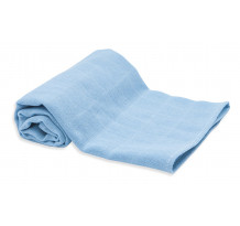 Set scutece din material textil, albastru, 70x70 cm, 3 buc