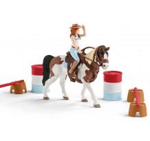 Set Schleich 42441, Clubul de calarie Western Horse Club Hannah