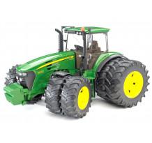 Tractor John Deere 7930 cu roti duble, Bruder 03052