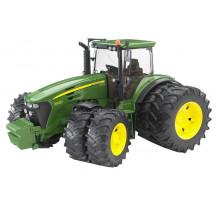 Tractor Bruder 03052, John Deere 7930 cu roti duble