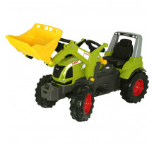 Tractor cu pedale Rolly Toys, Claas Arion 640 cu incarcator frontal