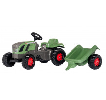 Tractor cu pedale si remorca Rolly Toys, Rollykid Fendt Vario 516
