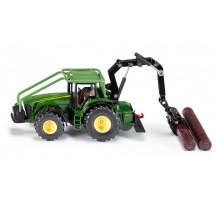 Tractor John Deere forestier, Siku 1:50