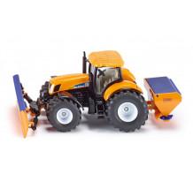Tractor New Holland cu lama de zapada, Siku