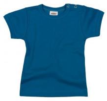 Tricou copii cu maneca scurta, albastru inchis