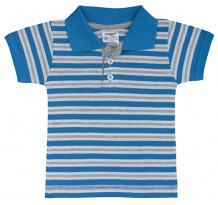 Tricou cu guler pentru copii, cu nasturi, PO25