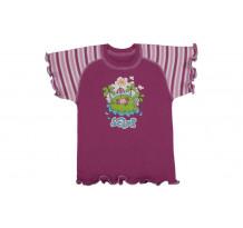 Tricou copii cu maneca scurta raglan /PO21