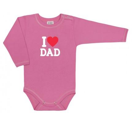 Body cu maneca lunga, I love dad, PO4