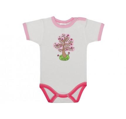 Body bebe cu capsa simpla la umar /Basic