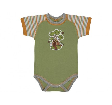 Body bebe cu maneca scurta raglan /PO7