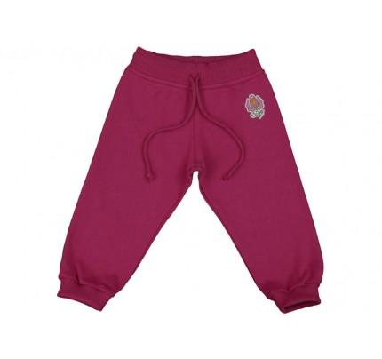 Pantaloni jogging copii DAN rosu ametist