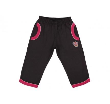 Pantaloni jogging copii LEO negru grafit