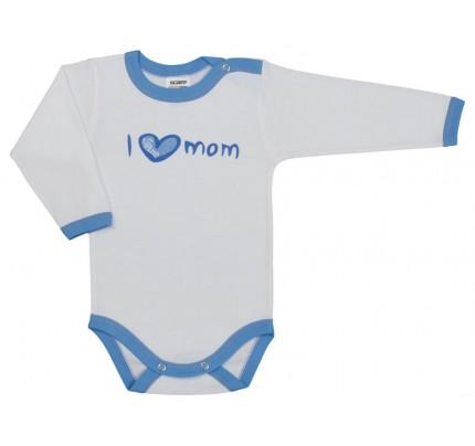 Body cu maneca lunga, I love mom, Basic