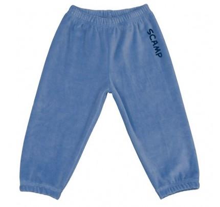 Pantalonasi din plus, albastru deschis