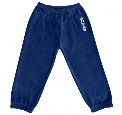 Pantalonasi din plus, albastru inchis