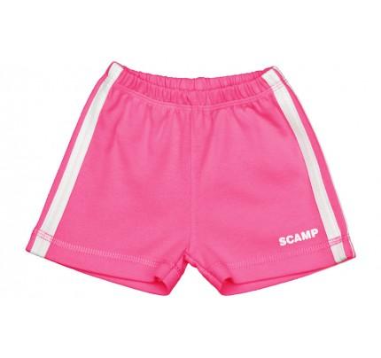 Pantaloni scurti copii, roz fucsia