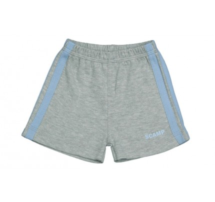 Pantaloni scurti pentru baieti, gri
