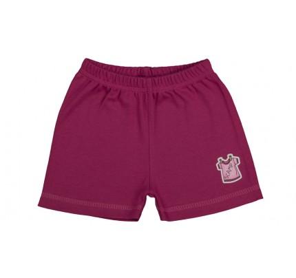 Pantaloni scurti copii / Purpuriu