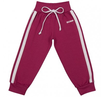 Pantaloni trening cu banda lata in talie, purpuriu