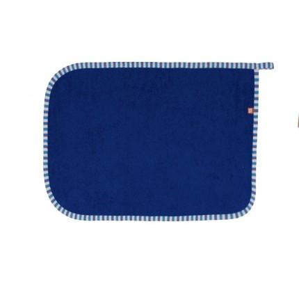 Prosop de baie, albastru marin, 30 x 50 cm