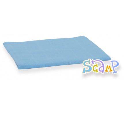 Scutec din material textil, albastru, 70x70 cm, 1 buc