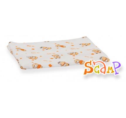 Scutec din material textil, cu ursuleti, 70x70 cm, 1 buc
