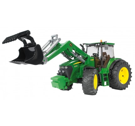Tractor Bruder, John Deere 7930 cu incarcator