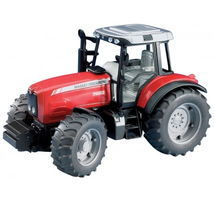 Tractor Bruder Massey Ferguson 7480