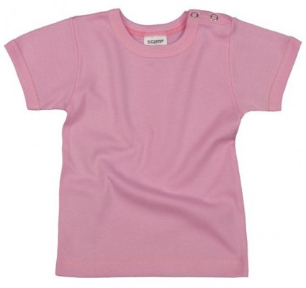 Tricou copii cu maneca scurta, roz