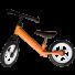 Bicicleta fara pedale portocalie
