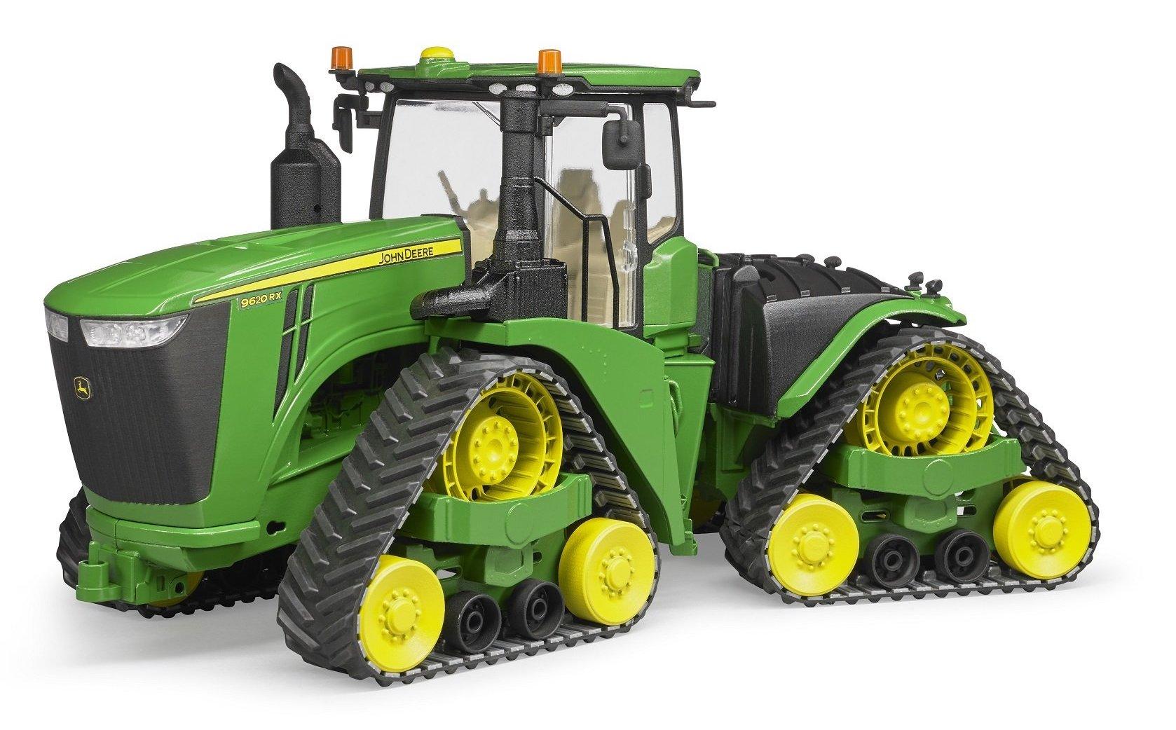 John Deere 9620RX tractor pe senile, Bruder