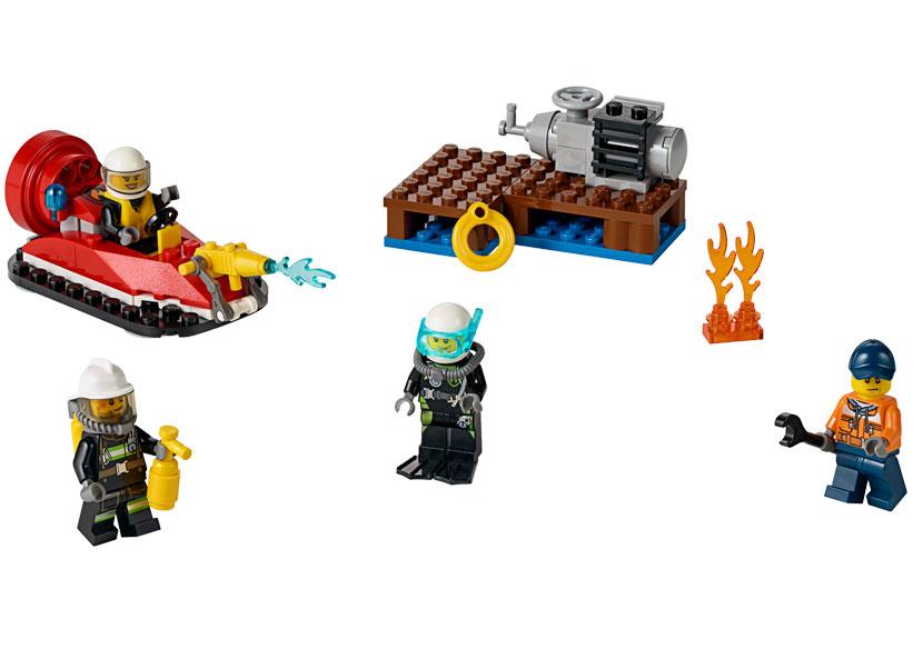 LEGO City, Set de pompieri pentru incepatori 60106