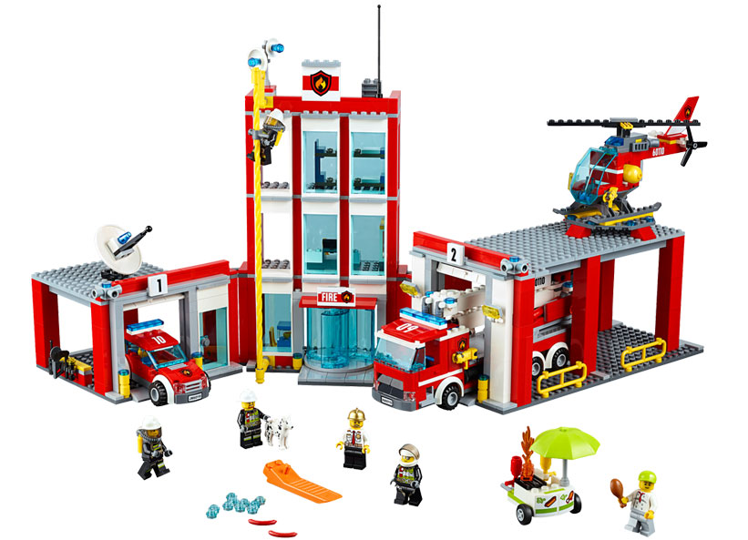 LEGO City, Remiza de pompieri 60110