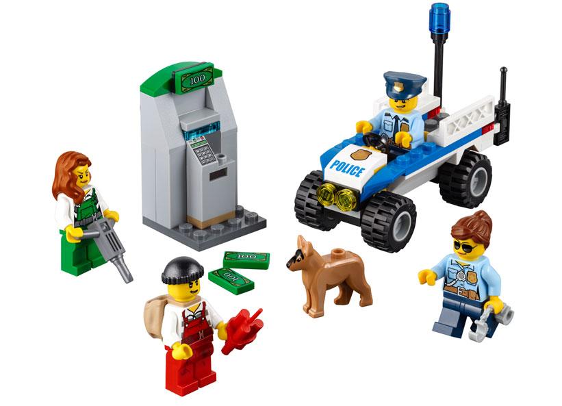 LEGO City, Set de politie pentru incepatori 60136