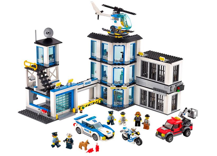 LEGO City, Sectie de politie 60141