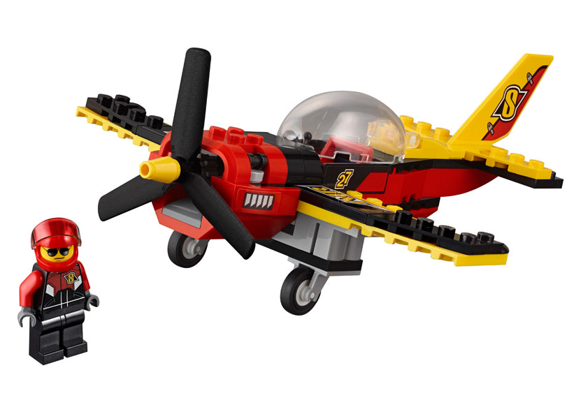 LEGO City, Avion de curse 60144