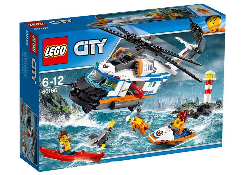 LEGO City, Elicopter de salvare pentru conditii grele 60166
