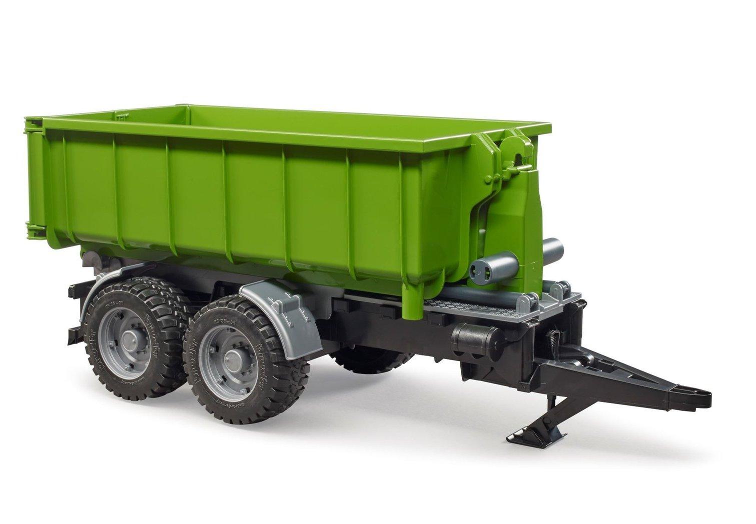 Remorca cu container pentru tractoare Bruder 02035