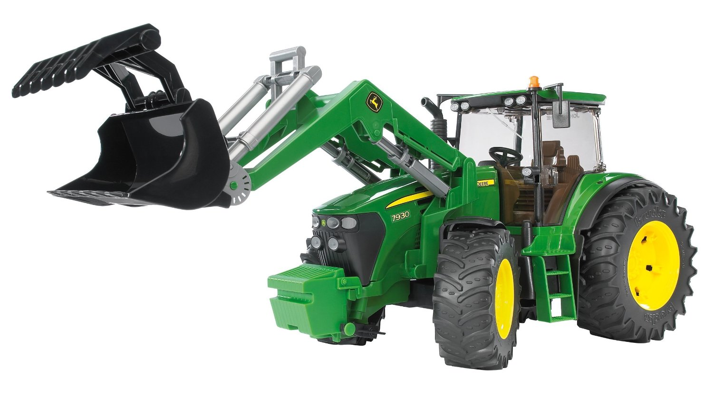 Tractor John Deere 7930 cu incarcator, Bruder