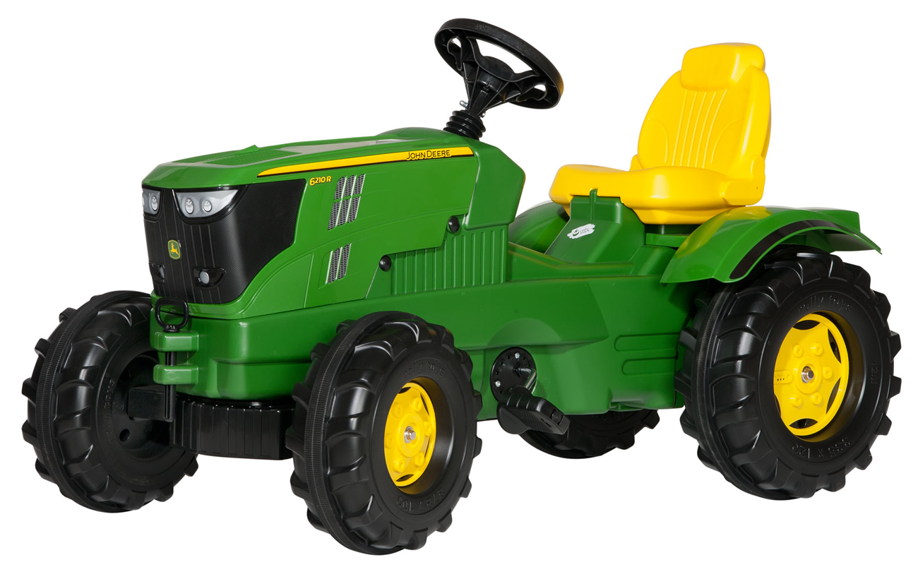 Tractor cu pedale Rolly Toys, John Deere 6210R