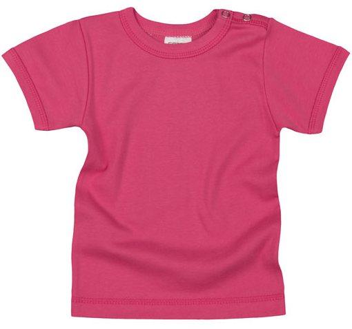 Tricou copii cu maneca scurta, roz fuchsia
