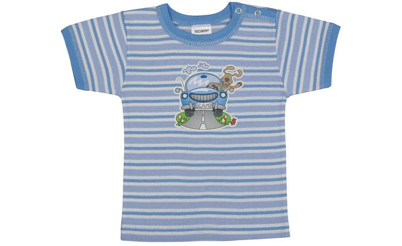 Tricou cu capsa simpla la urmar/PO22